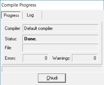 compile progress done Dev-C++