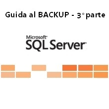 effettuare i backup di database con Microsoft Sql Server Management Studio