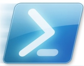 logo del prompt di Windows Power Shell
