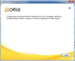 cambio seriale office 2010