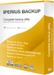 pacchetto software Iperius Backup